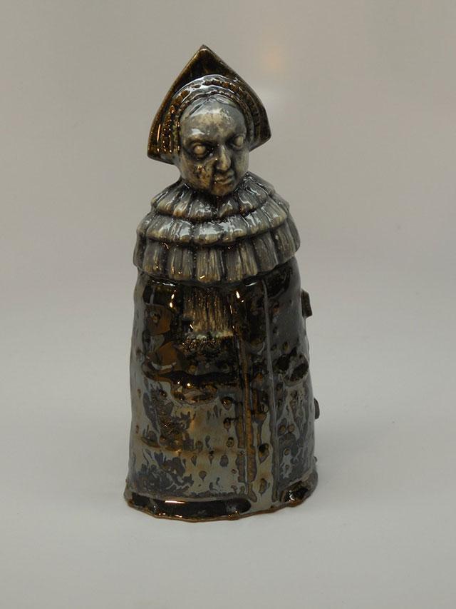 Ceramic Iron Maiden figure