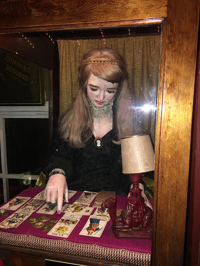 Coin-operated fortune teller at the House on The Rock