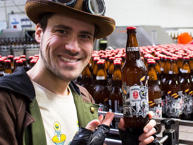 The Unipiper Hazy IPA beer keeps Portland weird